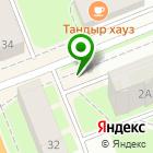 Местоположение компании Киоск по продаже цветов