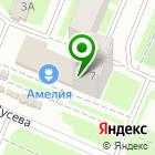 Местоположение компании Цветочный магазин на ул. Щусева