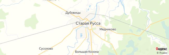 Старая Русса на карте