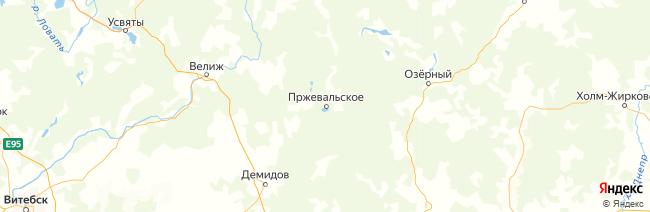 """Национальный парк """"Смоленское поозерье"""" на карте"""