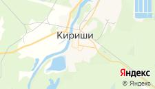 Гостиницы города Кириши на карте