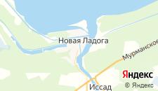 Гостиницы города Новая Ладога на карте