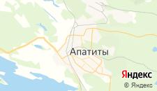 Гостиницы города Апатиты на карте