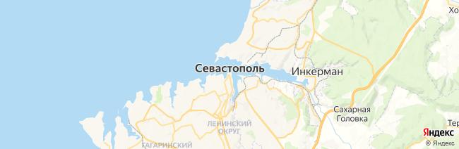 Севастополь на карте