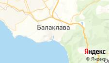 Гостиницы города Балаклава на карте