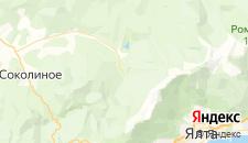 Гостиницы города Многоречье на карте