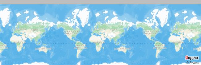 Мисхор на карте