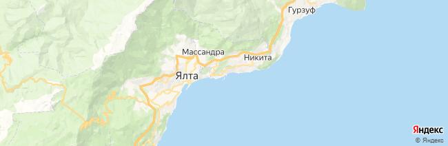 Отрадное на карте