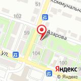 Автостоянка на ул. Азарова, 57Б