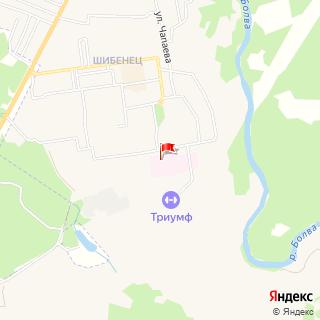 Место нахождения «Фокинская городская больница имениВ.И.Гедройц»