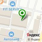 Местоположение компании Фокинский рынок