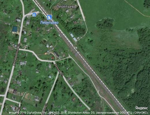 Вышневолоцкий район Село Леонтьево, село