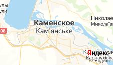 Гостиницы города Днепродзержинск на карте