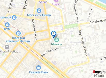 Посмотреть на карте фируму: Отель «7 Days City Hotel»