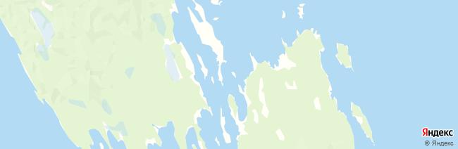 Кижи на карте