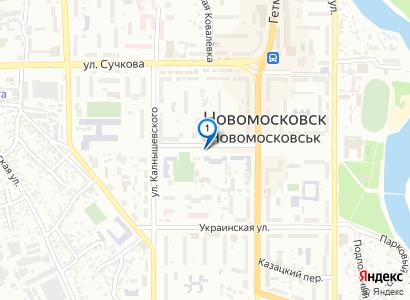 Новомосковск, Снегопад 14.01.2011 - просмотр фото на карте