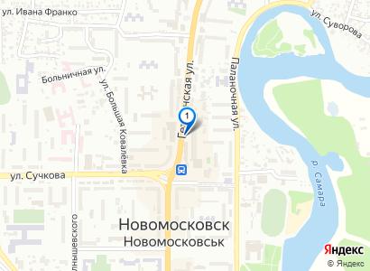 Новомосковск. Сити Центр - просмотр фото на карте