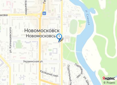 Главный вход в городской парк - просмотр фото на карте