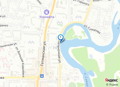 Весенняя городская набережная и остров, май 2016 - просмотр фото на карте