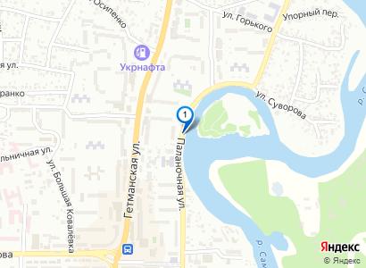 Вырубка деревьев на набережной - просмотр фото на карте