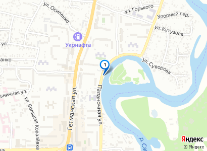 Новомосковск. Вид на остров - просмотр фото на карте