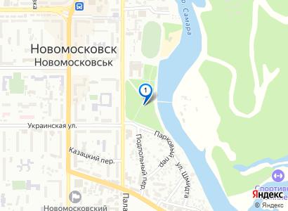 Карусель в городском парке - просмотр фото на карте