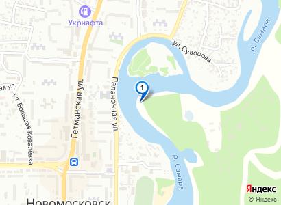 Рыбалка на р.Самара в черте города, сентябрь 2015 - просмотр фото на карте
