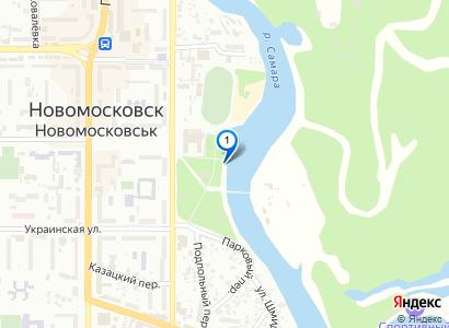 Строительство набережной в парке - просмотр фото на карте