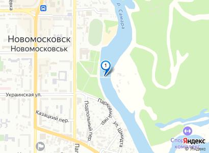 Колесо обозрения в парке, 1999 год - просмотр фото на карте