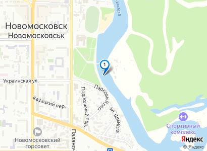 Парк и Самара с моста - просмотр фото на карте