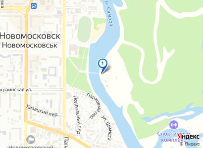 Горбатый мост в Новомосковске - просмотр фото на карте