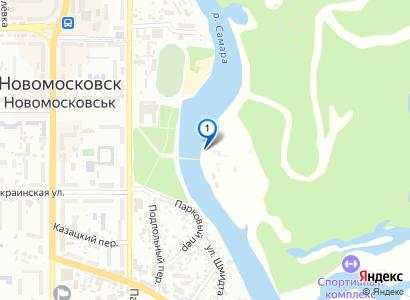 Зеркальная гладь на набережной в парке, сентябрь 2008 - просмотр фото на карте