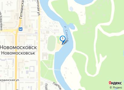 Горка на городском пляже Лягушатник, 1975 год - просмотр фото на карте