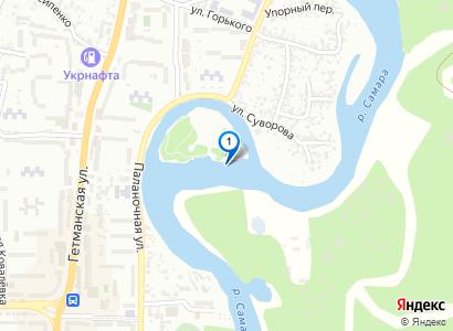 Река Самара в районе острова, май 2016 - просмотр фото на карте