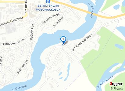 р.Самара и Троицкий собор. Вид с района Красный кут - просмотр фото на карте