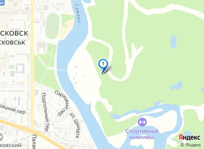Лесная дорога в парке, конец октября 2010 - просмотр фото на карте