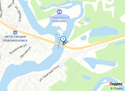 Вид с Краснокутянского моста на р.Самара - просмотр фото на карте
