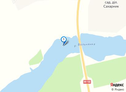 Рыбалка на ставке в Губинихе, март 2015 - просмотр фото на карте