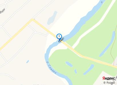 Вид на Самару с моста в Гвардейском - просмотр фото на карте