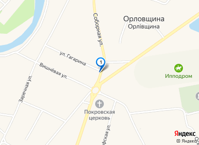 Свято-Покровский храм село Орловщина - просмотр фото на карте
