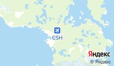 Гостиницы города Соловецкий на карте