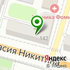 Местоположение компании Рубанок