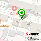 Местоположение компании Тверской мастер