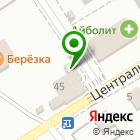 Местоположение компании Продуктовый магазин на Березовой