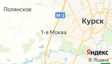 Гостиницы города Моква Первая на карте