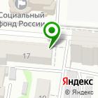 Местоположение компании Полиграфия на Мирной