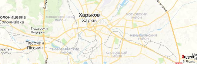 Харьков на карте