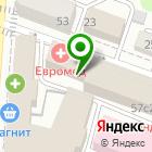 Местоположение компании Техникум экономики и предпринимательства