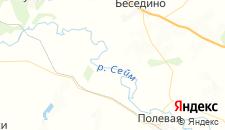 Гостиницы города Беломестное на карте
