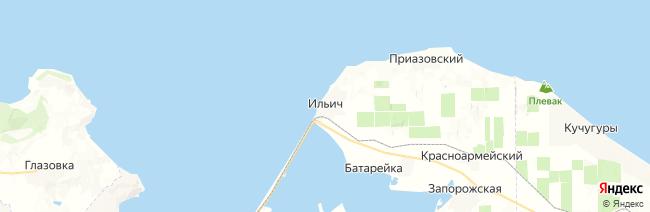 Ильич на карте